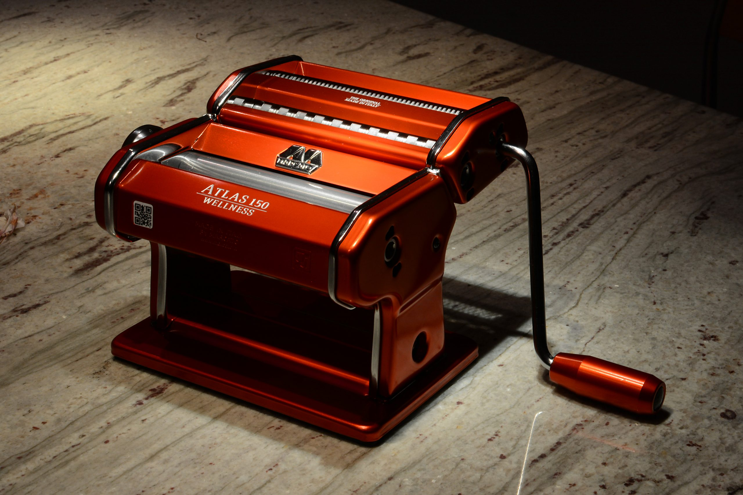 Nudelmaschine Marcato Atlas 150 – Pasta selber machen